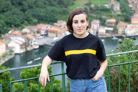 Maialen  Sagüés  -NOR  Euskal  Herria  Antiespezista  kolektiboko  bozeramailea