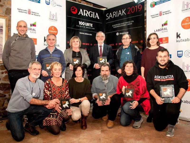 Askekintzaren  'Gurean'  dokumentala  saritu  du  Argiak