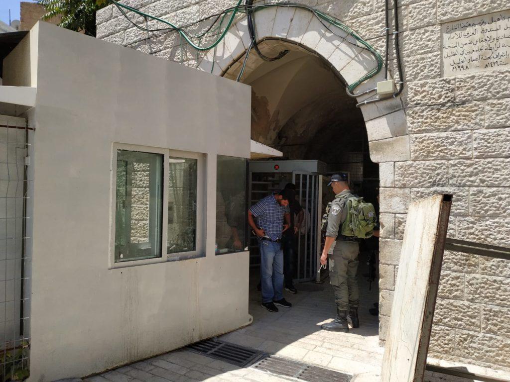 Hebron checkpoint
