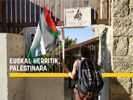 Euskal  Herritik,  Palestinara
