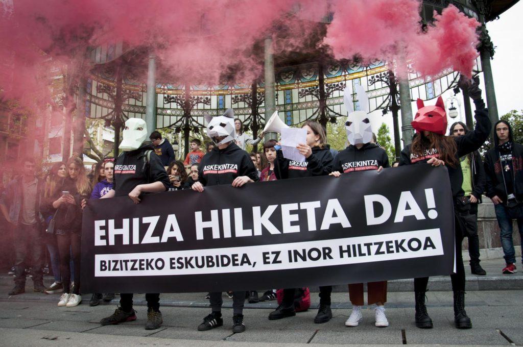 Ehizaren kontra manifestazioa