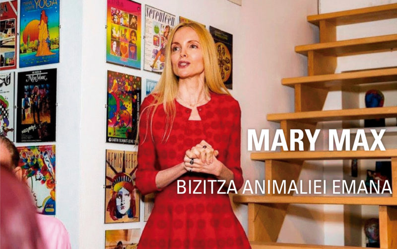 Mary Max. Bizitza animaliei emana.